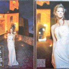 Coleccionismo de Revista Hola: RECORTE HOLA Nº 3448 2010 JAYDY MICHEL. ALBERTA FERRETTI, 9 PGS. Lote 162560914
