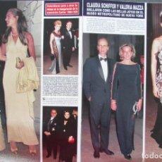 Coleccionismo de Revista Hola: RECORTE HOLA Nº 2749 1997 CLAUDIA SCHIFFER, VALERIA MAZZA. Lote 162567934