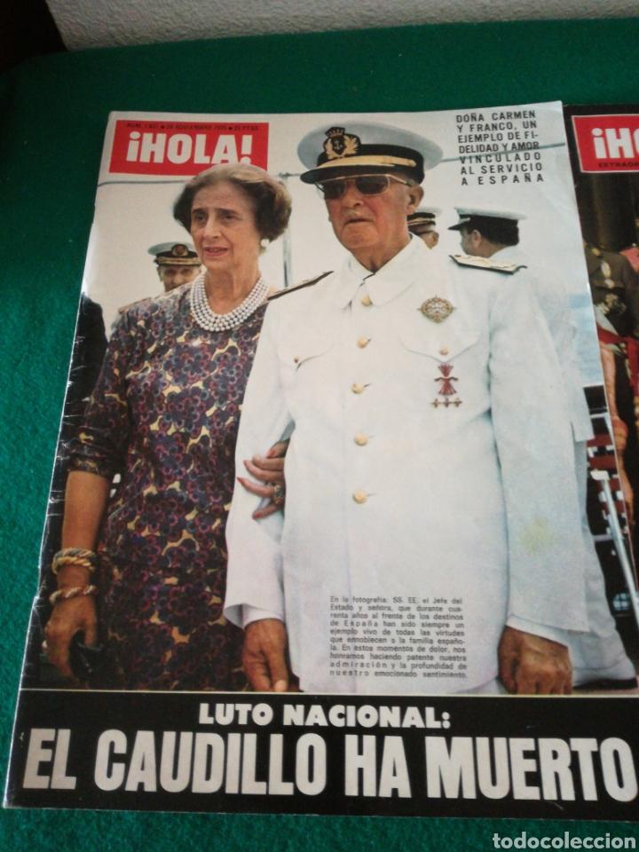 Coleccionismo de Revista Hola: REVISTA HOLA HACIENDO REFERENCIA A FRANCO - Foto 2 - 162584392