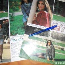 Coleccionismo de Revista Hola: RECORTE : ENTREVISTA A DANIELA ROMO. HOLA, OCTBRE 1984 (). Lote 162904430