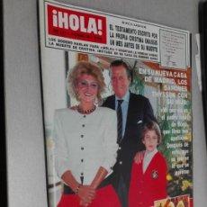 Coleccionismo de Revista Hola: REVISTA ¡HOLA! Nº 2314 - 22 DICIEMBRE 1988. Lote 163081694