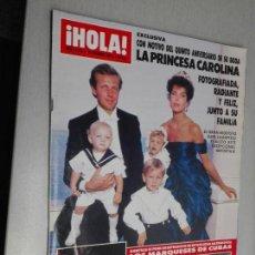 Coleccionismo de Revista Hola: REVISTA ¡HOLA! Nº 2313 - 29 DICIEMBRE 1988. Lote 163083690