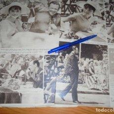 Coleccionismo de Revista Hola: RECORTE : AUDREY HEPBURN Y WILLIAM HOLDEN, RUEDAN PELICULA EN PARIS . HOLA, AGTO 1962 (). Lote 163548030