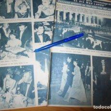 Coleccionismo de Revista Hola: RECORTE : AUDREY HEPBURN, EN LA PRESENTACION DE LA PELICULA, EL DIA MAS LARGO. HOLA, OCTBRE 1962 (). Lote 163579854