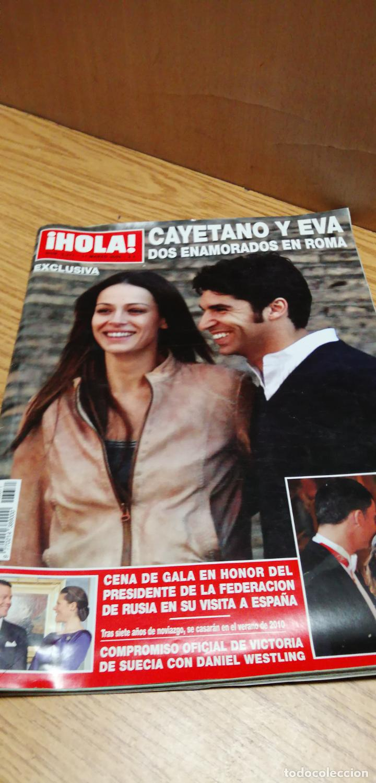 CAYETANO Y EVA GONZÁLEZ (Coleccionismo - Revistas y Periódicos Modernos (a partir de 1.940) - Revista Hola)