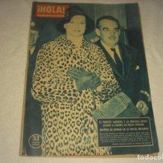 Coleccionismo de Revista Hola: HOLA ! Nº 798 . EN PORTADA LOS PRINCIPES RAINIERO Y GRACE 1959. Lote 163849542
