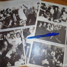 Coleccionismo de Revista Hola: RECORTE : BRIGITTE BARDOT EN MEXICO. HOLA, FBRO 1965 (). Lote 164051030