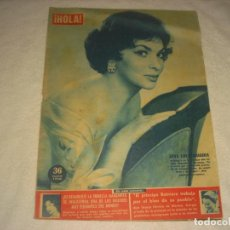 Coleccionismo de Revista Hola: HOLA ! Nº 755 , FEBRERO 1959. GINA LOLLOBRIGIDA .. Lote 164758670