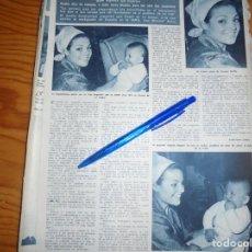 Coleccionismo de Revista Hola: RECORTE : CARMEN SEVILLA REGRESA DE NUEVA YORK . HOLA, MARZO 1965 (). Lote 164831666