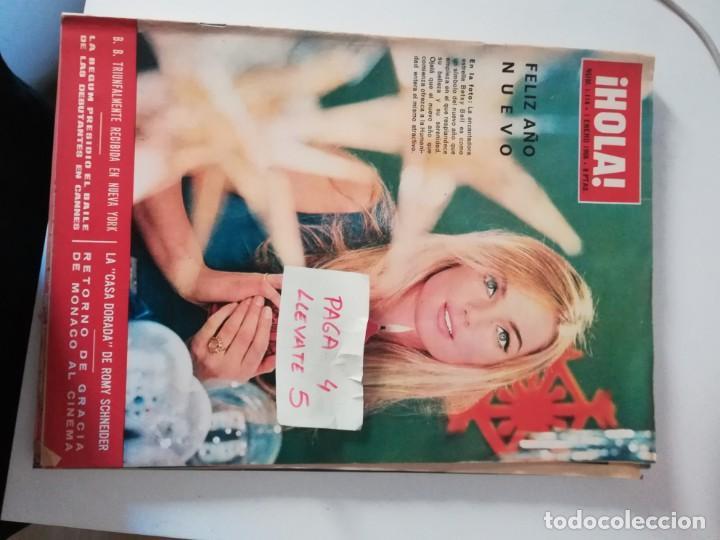 REVISTA HOLA 1114 * 1 ENERO 1966 * BETSY BELL + ROMY SCHNEIDER + GRACIA DE MONACO + LA BEGUM * 65 (Coleccionismo - Revistas y Periódicos Modernos (a partir de 1.940) - Revista Hola)