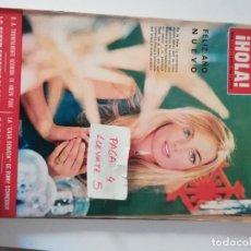 Coleccionismo de Revista Hola: REVISTA HOLA 1114 * 1 ENERO 1966 * BETSY BELL + ROMY SCHNEIDER + GRACIA DE MONACO + LA BEGUM * 65. Lote 164890966
