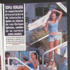 Coleccionismo de Revista Hola: RECORTE REVISTA HOLA Nº 2793 1998 SOFIA VERGARA. Lote 165039606