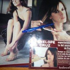 Coleccionismo de Revista Hola: RECORTE : PENELOPE CRUZ, PROTAGONISTA DEL ANUNCIO NAVIDEÑO DE FREIXENET . HOLA, NVMBRE 2001 (). Lote 165165598