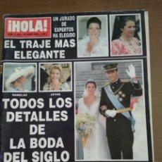 Coleccionismo de Revista Hola: ¡HOLA! N.3123 TODOS LOS DETALLES DE LA BODA DEL SIGLO. Lote 165210689