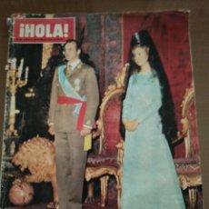 Coleccionismo de Revista Hola: ¡HOLA! N 1632 HOMENAJE A LOS REYES DE ESPAÑA. Lote 165211481