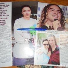 Collectionnisme de Magazine Hola: RECORTE : DAVID BISBAL Y CHENOA, HAN ROTO . HOLA, ABRIL 2005 (). Lote 165578966
