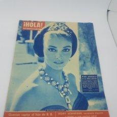 Coleccionismo de Revista Hola: REVISTA HOLA NÚMERO 866 ABRIL 1961 PIER ANGELI ROMY SCHNEIDER. Lote 165595762