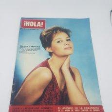 Coleccionismo de Revista Hola: REVISTA HOLA NÚMERO 995 SEPTIEMBRE 1963 CLAUDIA CARDINALE JOHN Y JACQUELINE KENNEDY. Lote 165596602