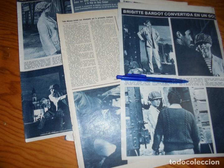 RECORTE : BRIGITTE BARDOT CONVERTIDA EN GOLFILLO NEOYORQUINO. HOLA, MARZO 1965 () (Coleccionismo - Revistas y Periódicos Modernos (a partir de 1.940) - Revista Hola)