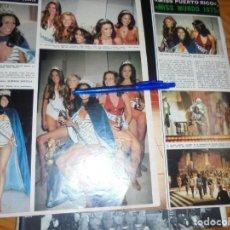 Collezionismo di Rivista Hola: RECORTE : MISS PUERTO RICO, ELEGIDA MISS MUNDO 1975. HOLA, DCMBRE 1975 (). Lote 165780886