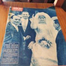 Coleccionismo de Revista Hola: N 915 DE 1962. Lote 165841178