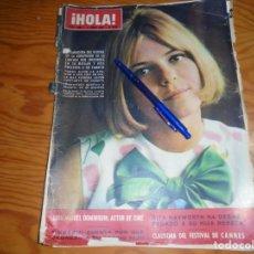 Coleccionismo de Revista Hola: RECORTE : FRANCE GALL. GANADORA FESTIVAL EUROVISION . HOLA, JUNIO 1965 (). Lote 165924990