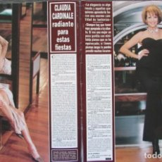 Coleccionismo de Revista Hola: RECORTE REVISTA HOLA Nº 2787 1998 CLAUDIA CARDINALE. 3 PGS. Lote 165927774