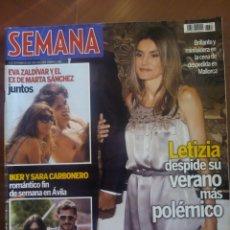 Coleccionismo de Revista Hola: REVISTA HOLA Nº 3683 AÑO 2010. REINA LETIZIA,IKER Y SARA CARBONERO,EVA ZALDIVAR Y EX DE MARTASANCHEZ. Lote 166040422