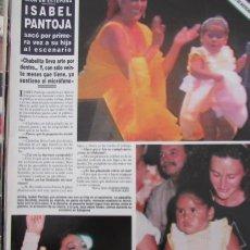 Coleccionismo de Revista Hola: RECORTE REVISTA HOLA Nº 2768 1997 ISABEL PANTOJA. Lote 166147486
