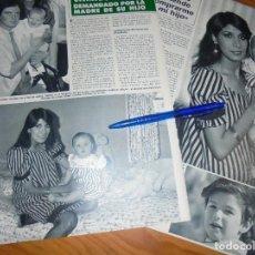 Coleccionismo de Revista Hola: RECORTE : CAMILO SESTO DEMANDADO POR LOURDES ORNELLAS . HOLA, MARZO 1988 (). Lote 166492878