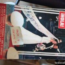 Coleccionismo de Revista Hola: REVISTA HOLA 1190 * 17 JUNIO 1967 * BODA PRINCESA MARGARITA Y HENRI DE MONPEZAT + ROMMY SCHNEIDER*66. Lote 166521290