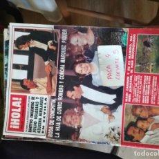 Coleccionismo de Revista Hola: REVISTA HOLA 2301 * 22 SEPTIEMBRE 1988 * JULIO IGLESIAS Y AZUCENA HERNANDEZ + BODA CONCHITIN * 66. Lote 166522062