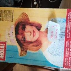 Coleccionismo de Revista Hola: REVISTA HOLA 1154 * 8 OCTUBRE 1966 * ELSA MARTINELLI + JACQUELINE + CATHERINE SPAAK + FARAH * 67. Lote 166873728