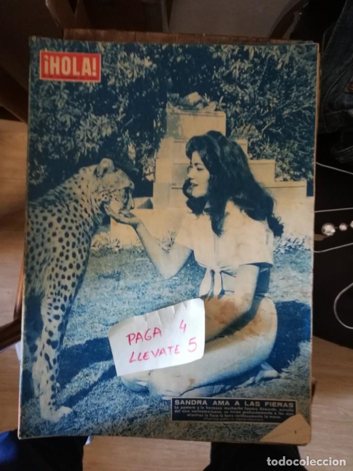 REVISTA HOLA 734 * 20 SEPTIEMBRE 1958 * SANDRA EDWARDS + BRIGITTE BARDOT + MARGARITA * 67 (Coleccionismo - Revistas y Periódicos Modernos (a partir de 1.940) - Revista Hola)