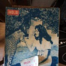 Coleccionismo de Revista Hola: REVISTA HOLA 734 * 20 SEPTIEMBRE 1958 * SANDRA EDWARDS + BRIGITTE BARDOT + MARGARITA * 67. Lote 166876232