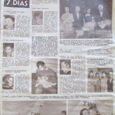 Coleccionismo de Revista Hola: RECORTE REVISTA HOLA Nº 961 1963 MARISOL. Lote 166985644