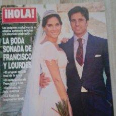 Collectionnisme de Magazine Hola: REVISTA HOLA 3651. Lote 167099824