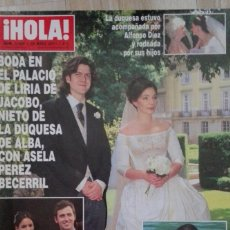 Collectionnisme de Magazine Hola: REVISTA HOLA 3486. Lote 167100676
