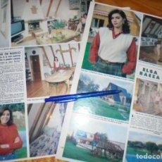 Coleccionismo de Revista Hola: RECORTE : ELSA BAEZA, PROXIMA BODA. HOLA, ABRIL 1982(). Lote 167258400
