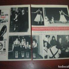 Coleccionismo de Revista Hola: CAROLINA MONACO INTERPRETA BLANCANIEVES -HOLA AÑO 1967 - RECORTE REVISTA 2 PAG.- . Lote 167543516