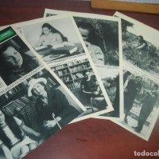Coleccionismo de Revista Hola: BEATRIZ SABOYA HABLA PRIMERA VEZ DESDE ACCIDENTE -HOLA AÑO 1967 - RECORTE REVISTA 8 PAG.- . Lote 167543804