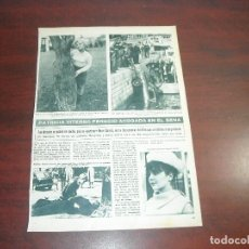 Coleccionismo de Revista Hola: PATRICIA VITERBO PERECIO AHOGADA -HOLA AÑO 1966 - RECORTE REVISTA 2 PAG.-. Lote 167547580