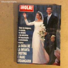 Collectionnisme de Magazine Hola: ¡HOLA! N°2775 (OCTUBRE, 1997). LA BIDA DE LA INFANTA CRISTINA E IÑAKI URDANGARIN. 366 PÁGINAS.. Lote 167628406
