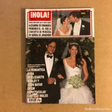 Coleccionismo de Revista Hola: ¡HOLA! N°3267 (MARZO, 2007). FRANCISCO RIVERA ORDÓÑEZ, BODA DE ALEXANDRA DE DINAMARCA,.... Lote 167757677