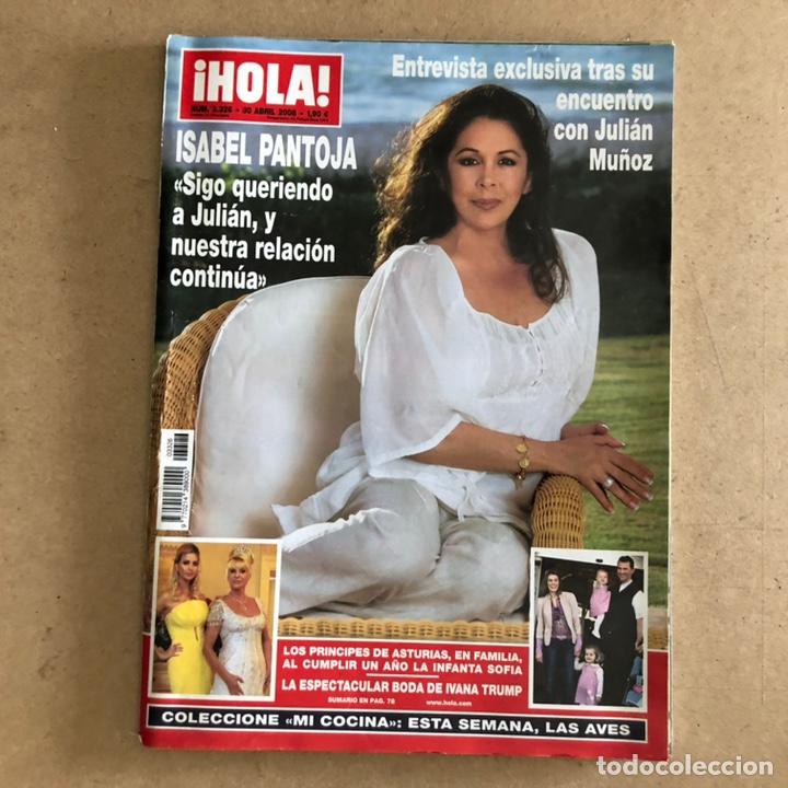 ¡HOLA! N°3326 (ABRIL, 2008). ISABEL PANTOJA, PRINCIPES DE ASTURIAS, BODA DE YVANA TRUMP,... (Coleccionismo - Revistas y Periódicos Modernos (a partir de 1.940) - Revista Hola)