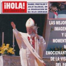 Coleccionismo de Revista Hola: ¡ HOLA ! Nº 2550. Lote 166526982