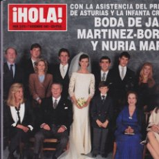 Coleccionismo de Revista Hola: ¡ HOLA ! Nº 2678. Lote 166527222