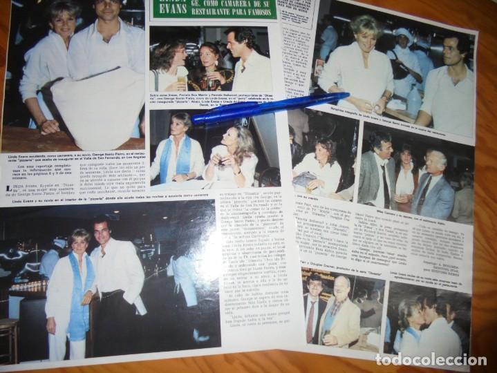 RECORTE : URSULA ANDRESS Y LINDA EVANS. HOLA, MARZO 1983 () (Coleccionismo - Revistas y Periódicos Modernos (a partir de 1.940) - Revista Hola)