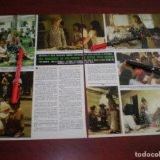 Coleccionismo de Revista Hola: TIPPI HEDREN MISIONERA - RECORTE- HOLA AÑO 1975- VER DETALLES. Lote 168344440
