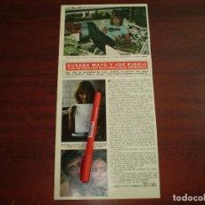 Coleccionismo de Revista Hola: SUSANA MAYO Y JOE RIGOLI ESTRENAN NACIONALIDAD ESPAÑOLA - RECORTE- HOLA AÑO 1975- VER DETALLES. Lote 168345600